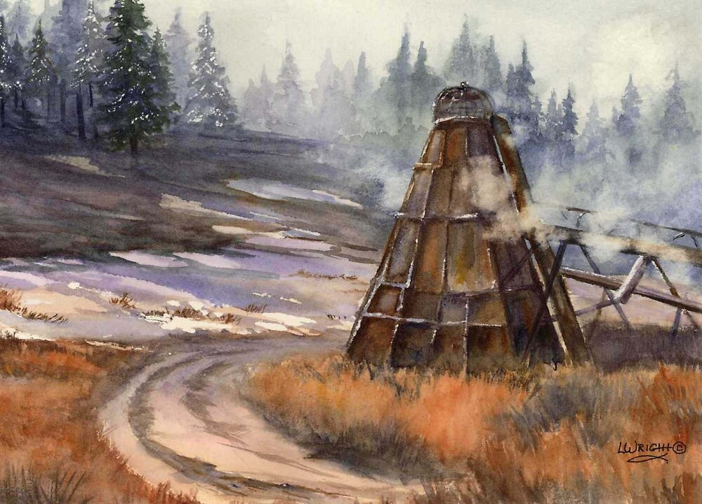 Wigwam by Lynne Wright