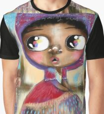 She Put On Her Hood and Walked into The Woods Graphic T-Shirt