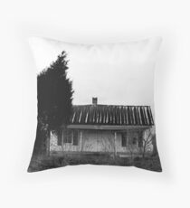Russell Cave House Throw Pillow