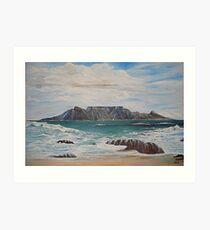Table Mountain - Cape Town -SA Art Print