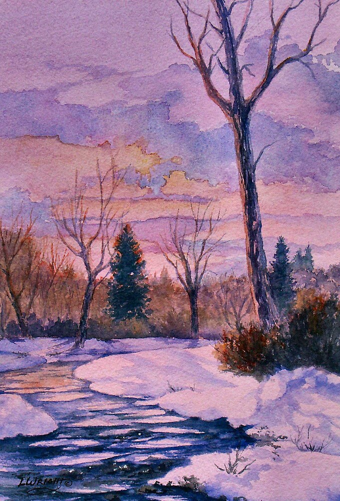 Winter Glow by Lynne Wright