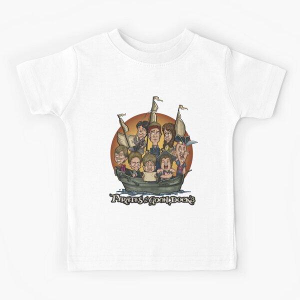 Pirates of the Goon Docks Kids T-Shirt