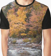 Foliage Creek Graphic T-Shirt