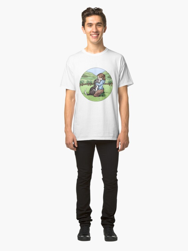 Alternate view of Collie Love Classic T-Shirt