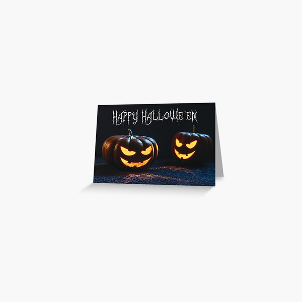 Happy Hallowe'en Greeting Card