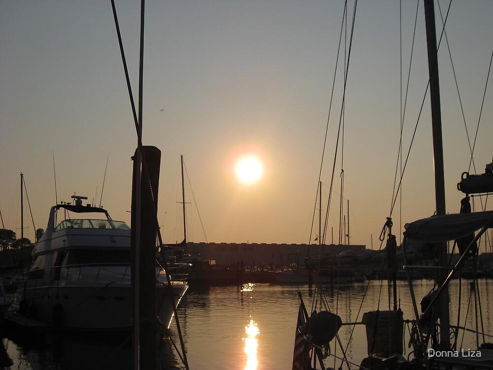 Norfolk Sunrise by Donna Liza