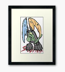 Switch Monster Framed Print