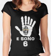 Juventus, e sono 6 scudetti consecutivi Women's Fitted Scoop T-Shirt