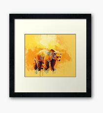 Bear Dream Framed Print