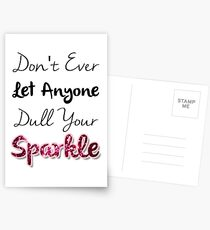 Dull Your Sparkle Postcards