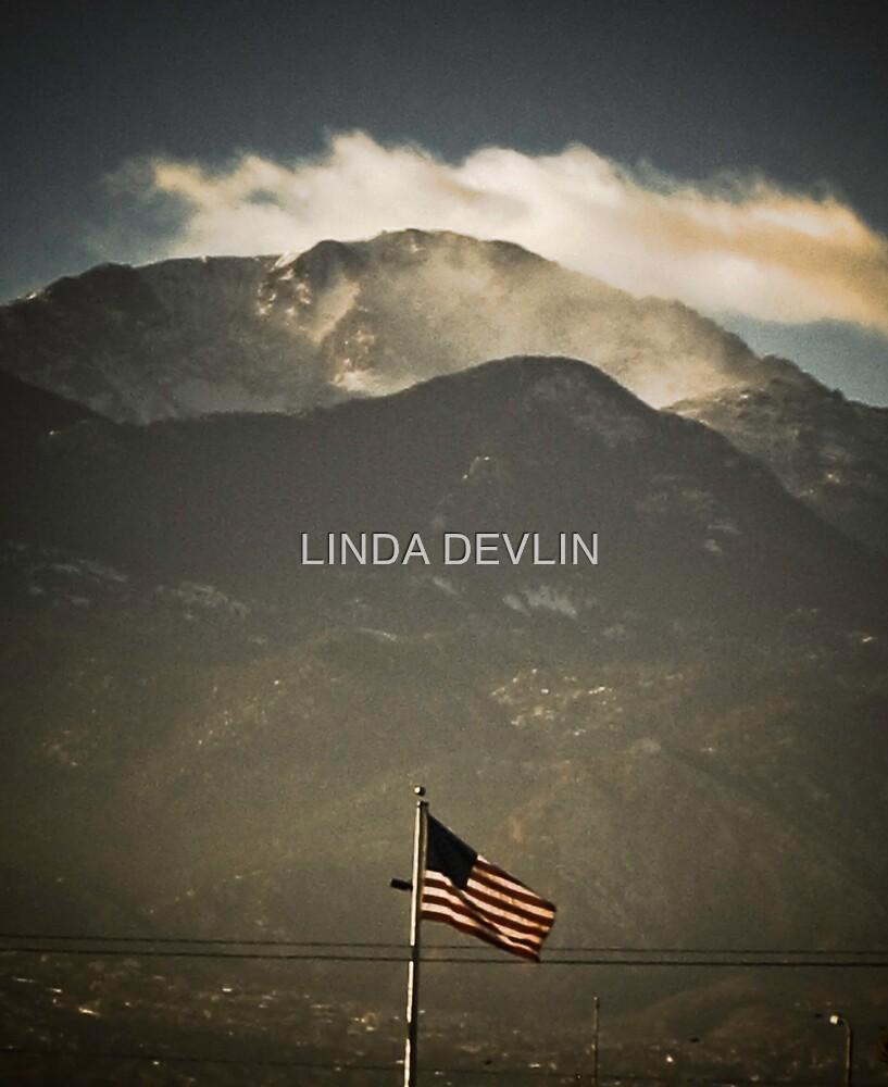 OLD GLORY and PIKES PEAK by LINDA DEVLIN