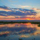 Myanmar. Inle Lake. Sunset. by vadim19