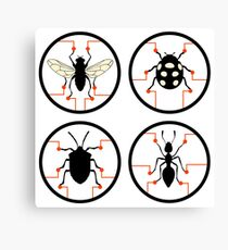 insects genetically modified organisms gmo Canvas Print
