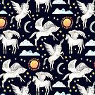 Pegasus, Son of Poseidon by Tangerine-Tane