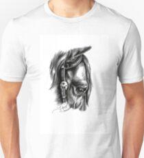 """""""Calm"""" - American Quarter Horse, Graphite Unisex T-Shirt"""