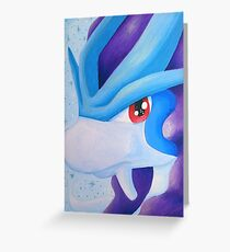 Suicune! Greeting Card