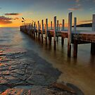 Safety Beach Sunset by Jim Worrall