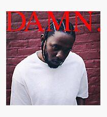 Kendrick Lamar - DAMN Photographic Print