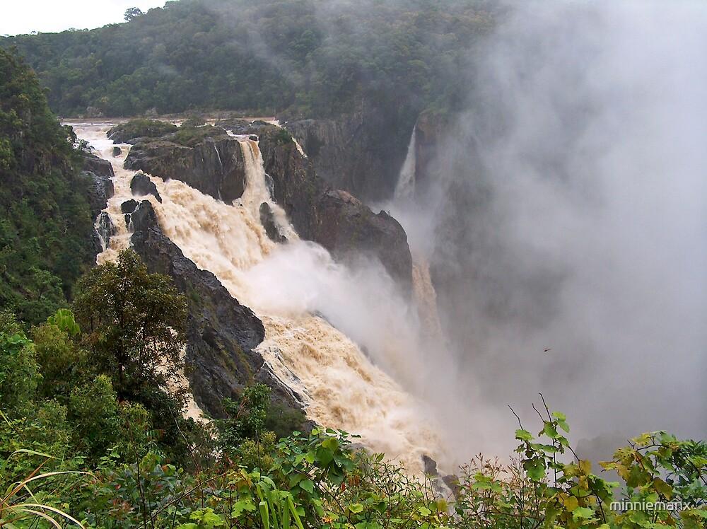 Barron River Falls by minniemanx