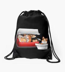 Corgi Nuggets Drawstring Bag