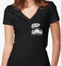 Lets go Women's Fitted V-Neck T-Shirt