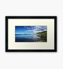 Brisbane Water, Central Coast, NSW, Australia Framed Print