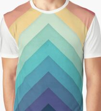 Retro Chevrons 002 Graphic T-Shirt