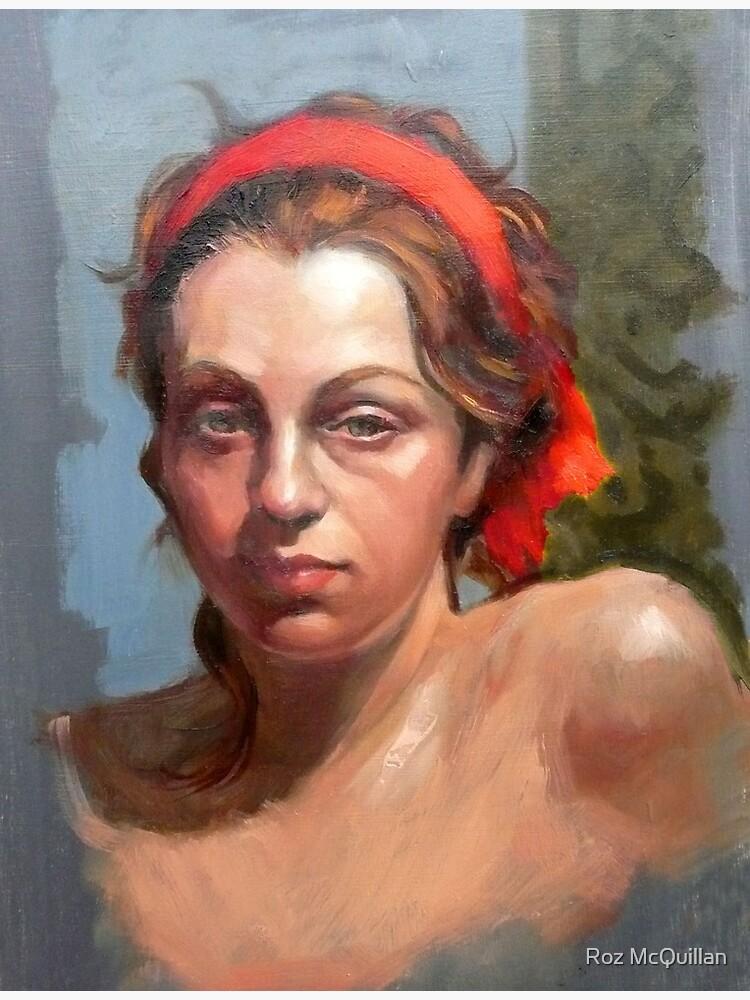 Portrait of Phoebe ~ oil by rozmcq