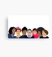 Feminist Girl Gang- Squad Goals Canvas Print