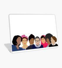 Vinilo para portátil Chica Feminista Gang-Squad Goals