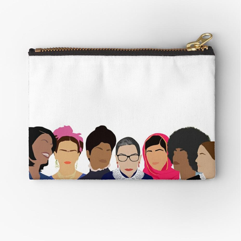 Feminist Girl Gang- Squad Goals Zipper Pouch