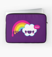 Wow Rainbow Laptop Sleeve