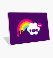 Wow Regenbogen Laptop Skin