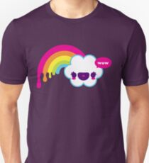 Wow Rainbow T-shirt unisexe