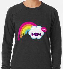 Wow Regenbogen Leichtes Sweatshirt