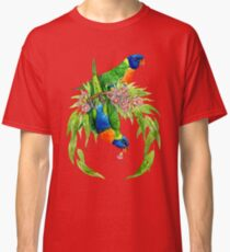 Regenbogen Lorikeets Classic T-Shirt