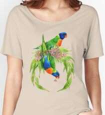 Rainbow Lorikeets Women's Relaxed Fit T-Shirt