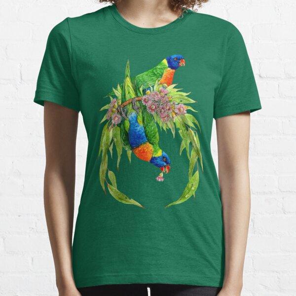 Rainbow Lorikeets Essential T-Shirt
