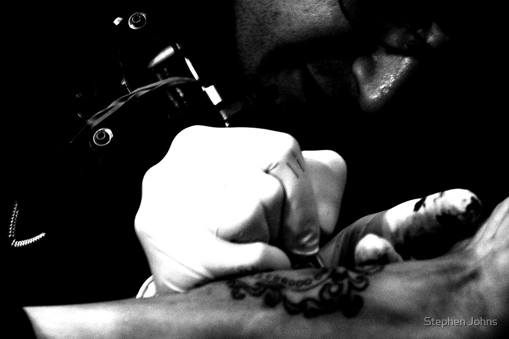 Tattoist by Stephen Johns