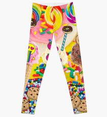 Ice Cream Sprinkle Candy Cookie Dreams Leggings