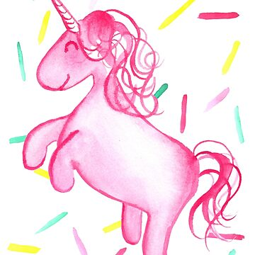 Ponicorn (Pink) - By Merrin Dorothy by makemerriness