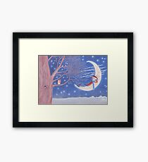 dreaming amongst stars and owls Framed Print