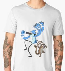 Regular Show Mordecai and Rigby Men's Premium T-Shirt