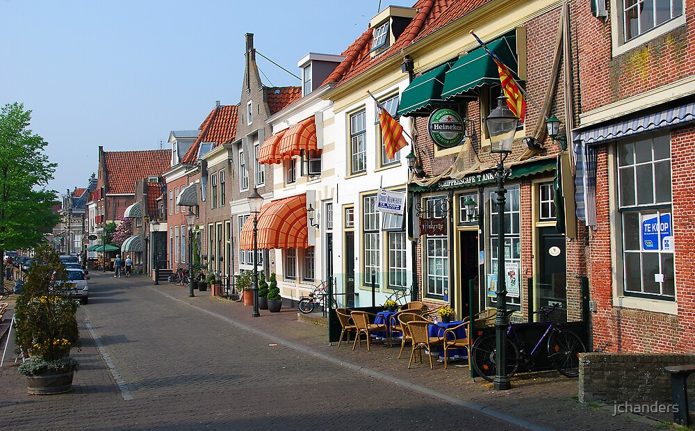 Having a beer at Enkhuizen by jchanders