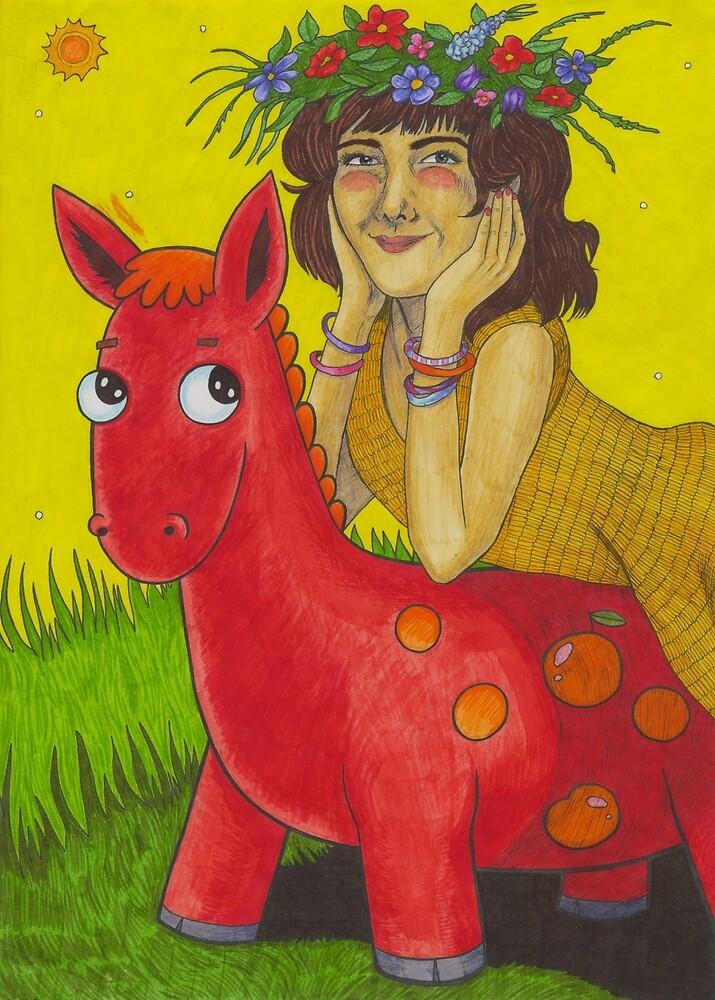 Sally Cinnamon by Cloverswine