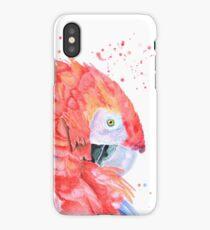 Loro Rojo iPhone Case/Skin