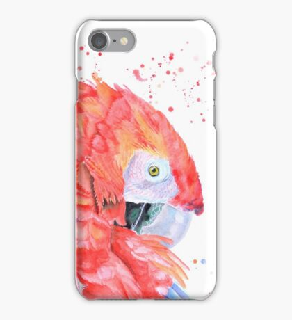 Loro Rojo iPhone Case/Skin