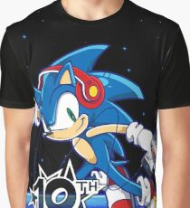 The Sonic Show 10th Anniversary Graphic T-Shirt