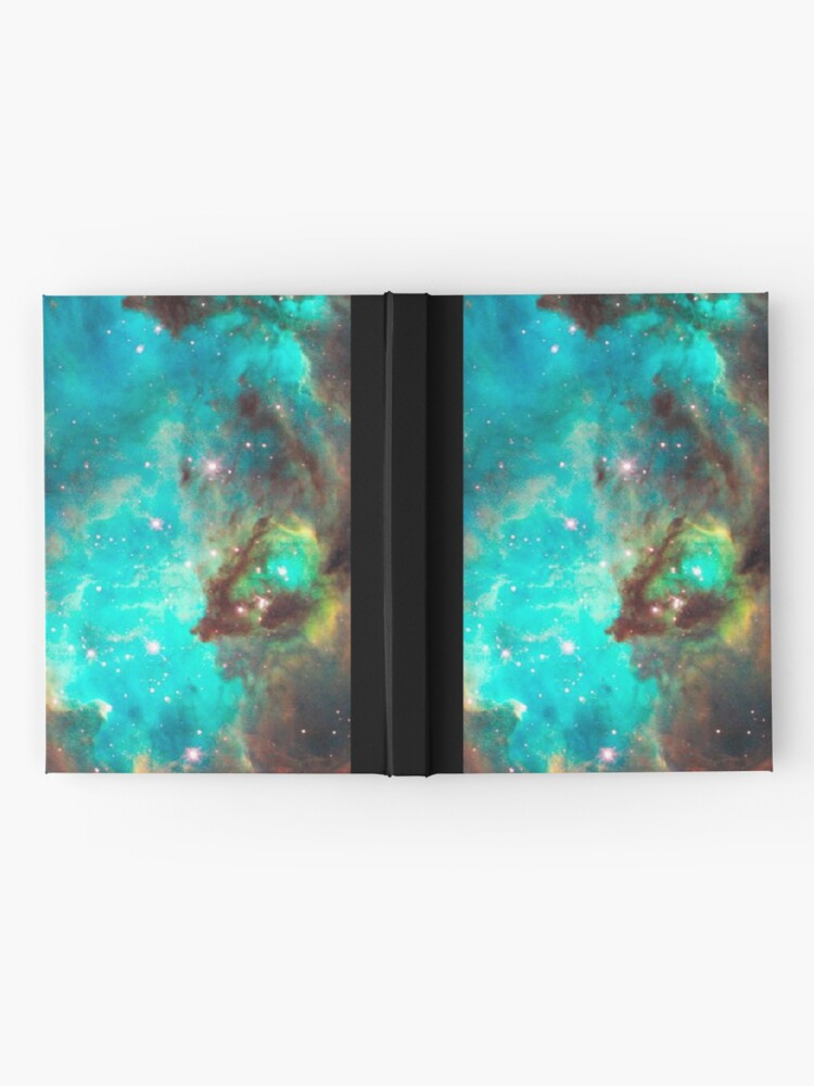 Alternate view of Green Galaxy Hardcover Journal