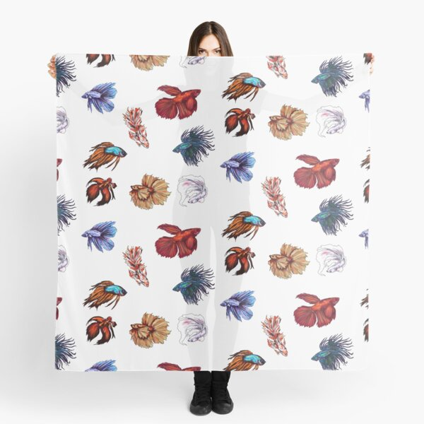 Betta fishes Scarf